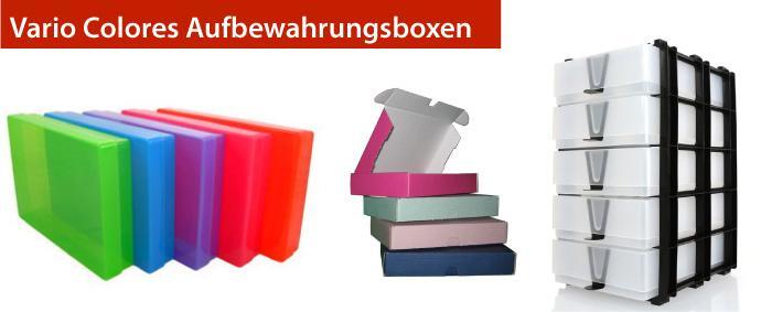 Vario Colores aufbewahrungsboxen
