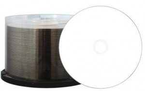 Aqualock Glossy CD-R Inkjet bedruckbar wasserabweisend, 700MB/80Min./52x