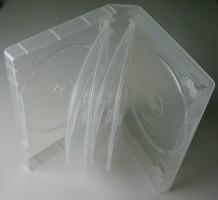 dvd h lle 10 fach transparent 10er dvd box 190x135x35mm cd h llen dvd h llen 1 2 3 4 5 6 7 8 10. Black Bedroom Furniture Sets. Home Design Ideas
